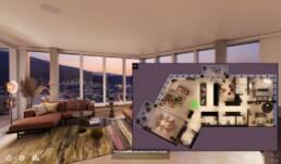 4.5-Zimmer-Wohnung SKY LEVEL